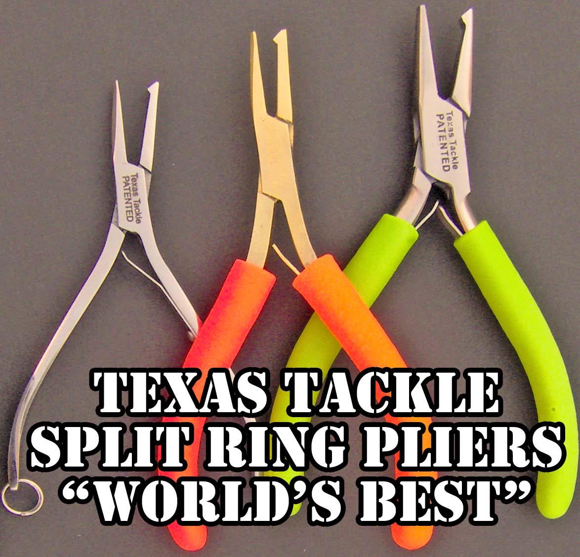 Texas Tackle Split Ring Pliers Ebay
