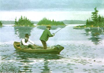 Click here to visit our fishing art gallery