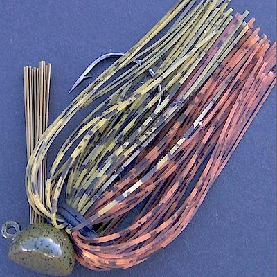 Live Target-Hollow Body Craw-NIP-Limited Production-Crawfish Jig-3//8 Oz Blue Mud