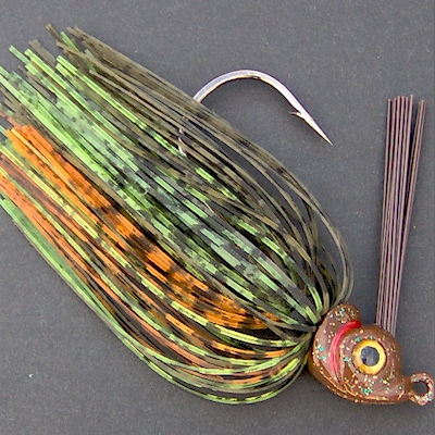 Bob4Bass Fine Cut Jig  Skirts 11 colors to choose from 5 in a Pack