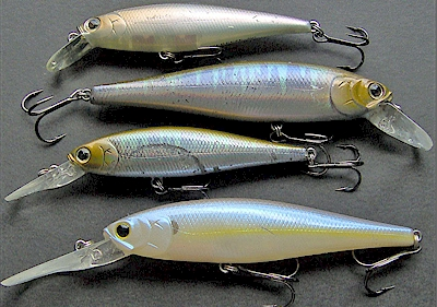 My lucky est choices lucky craft jerkbaits bassdozer 39 s for Bass fishing jerkbaits