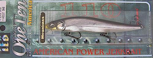 MEGABASS ITO VISION ONE TEN 110 JERKBAIT-------HT ITO WAKASAGI
