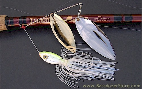 Spinnerbait tips for bass fishing in mexico for How to make a fishing spinner