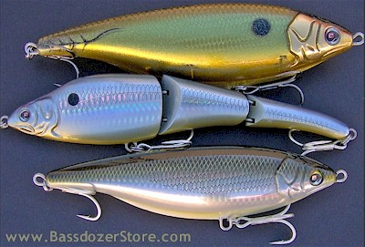 bassdozerstore: sebile surf fishing lures for striped bass, Hard Baits