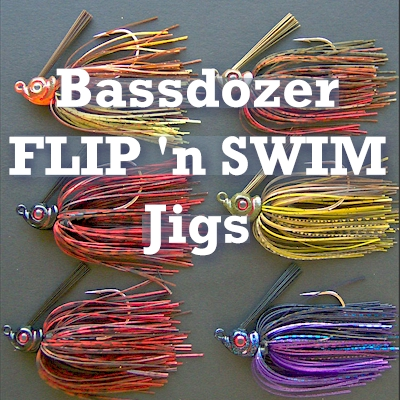 Bob4Bass Flip n Swim Jig Blue Shad PTU024