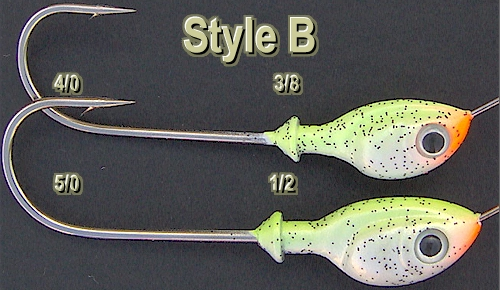 how to make spinnerbait heads